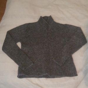 Eileen Fisher Charcoal Grey Sweater